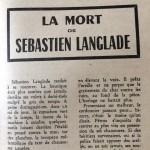 La mort de Sébastien Langlade 1