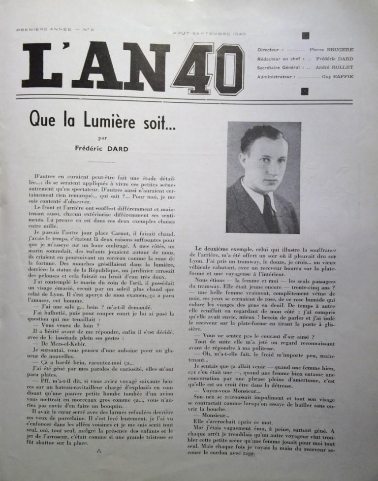 L'An 40 n°8