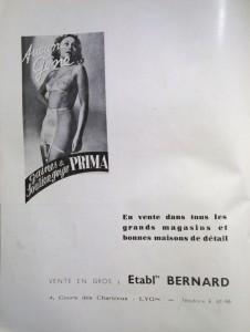 Le Mois à Lyon dernière page An 40décembre 1940 pub