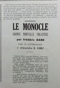L'An 40 n°7 -Le monocle début