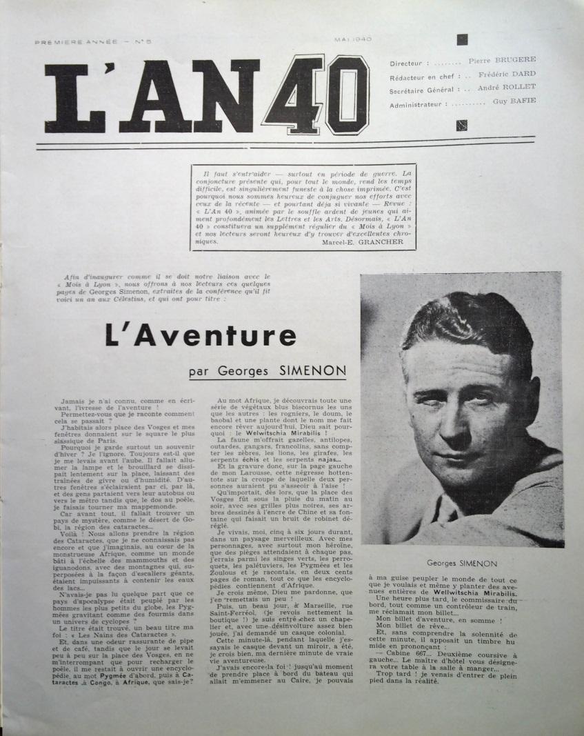 L'An 40 n°5