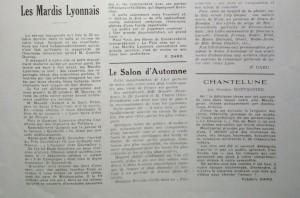L'An 40 n°11 plusieurs critiques de F. Dard