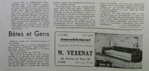 Le Mois à Lyon octobre 1940 an 40 page 2 - Copie