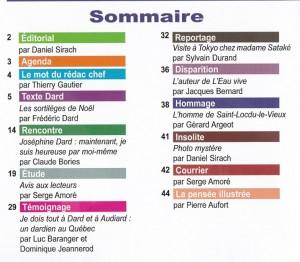 MSA n°75 Sommaire