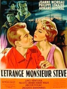 Affiche l'étrange Monsieur Steve