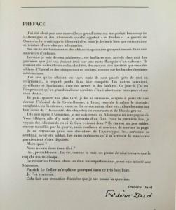 Allemagne du Rhin à Berlin préface F. Dard