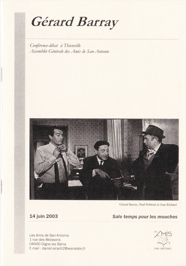 Conférence-débat à Thionville juin 2003
