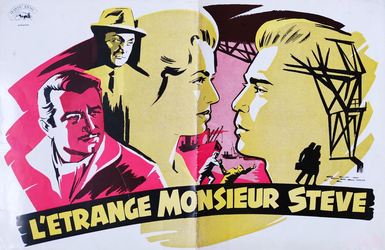 L'étrange Monsieur Steve Affiche 320 sur 240