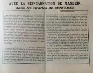 L'Echo de Savoie n°15 éditorial