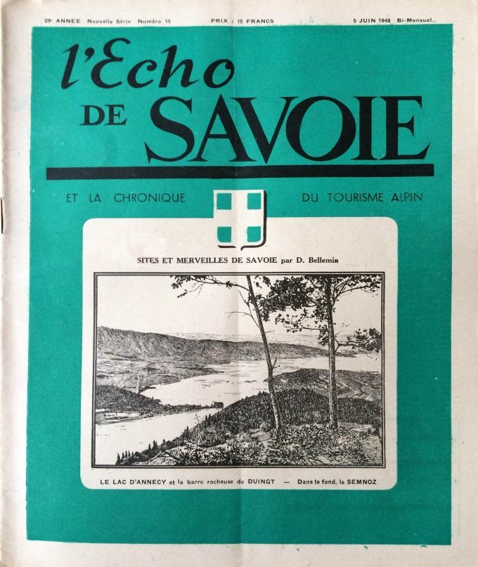 L'Echo de Savoie n°15
