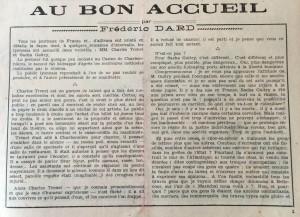 L'Echo de Savoie n°16 texte éditorial