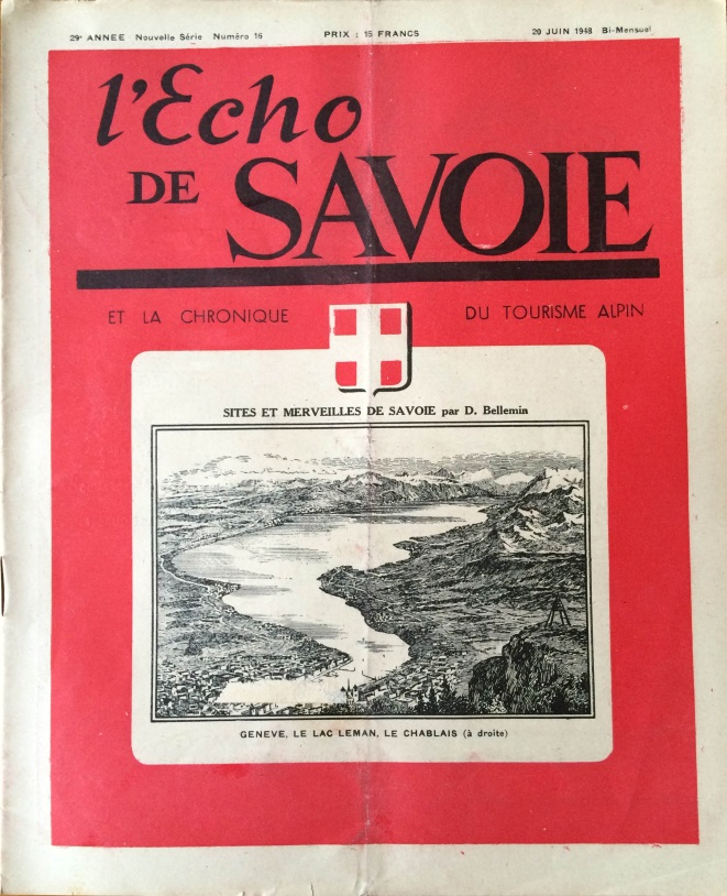 L'Echo de Savoie n°16