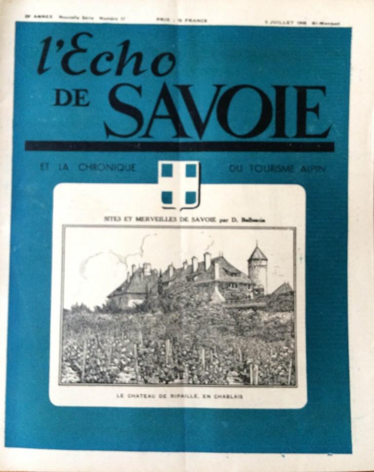 L'Echo de Savoie n°17