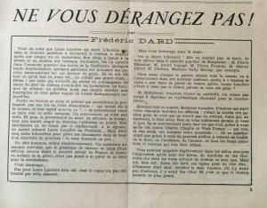 L'Echo de Savoie n°17 Texte editorial -