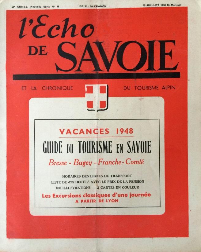 L'Echo de Savoie n°18