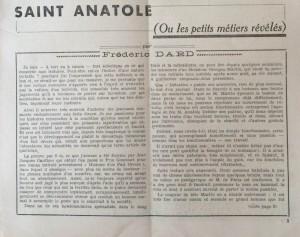 L'Echo de Savoie n°19 éditorial