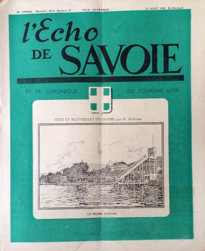 L'Echo de Savoie n°19