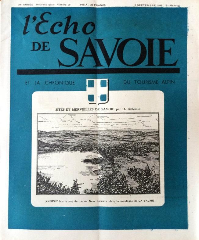 L'Echo de Savoie n°20