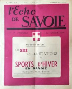 L'Echo de Savoie n°27 1er janvier 1949