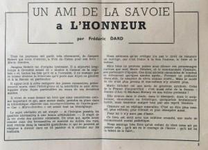 L'Echo de Savoie n°28 éditorial