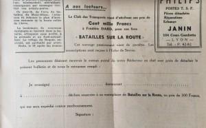 L'Echo de Savoie n°29 encart Batailles 2