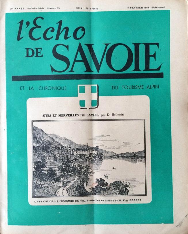 L'Echo de Savoie n°29