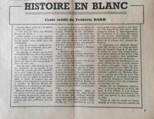 L'Echo de Savoie n°30 éditorial