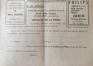 L'Echo de Savoie n°30 encart batailles