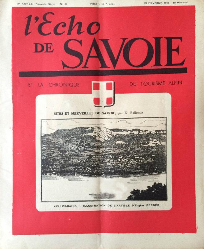 L'Echo de Savoie n°30