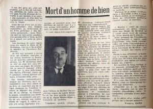 L'Echo de Savoie n°31 éditorial suite