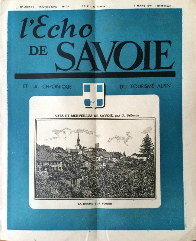 L'Echo de Savoie n°31