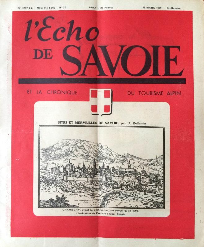 L'Echo de Savoie n°32