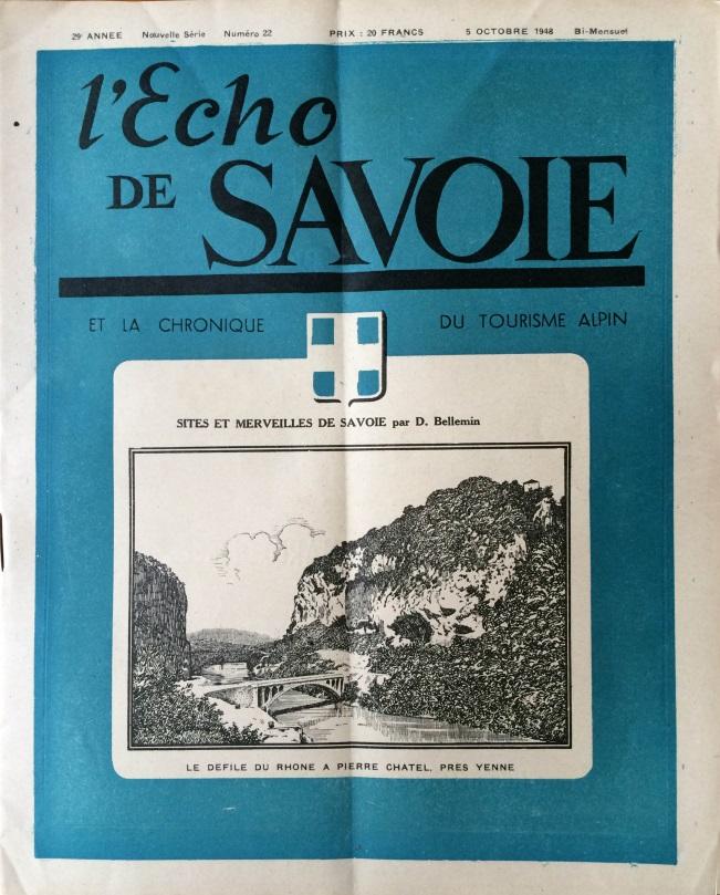 L'Echo de Savoie n°22