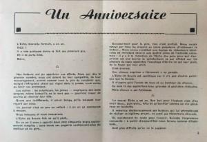 L'Echo de Savoie n°24 éditorial.