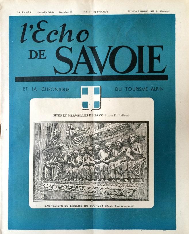 L'Echo de Savoie n°25