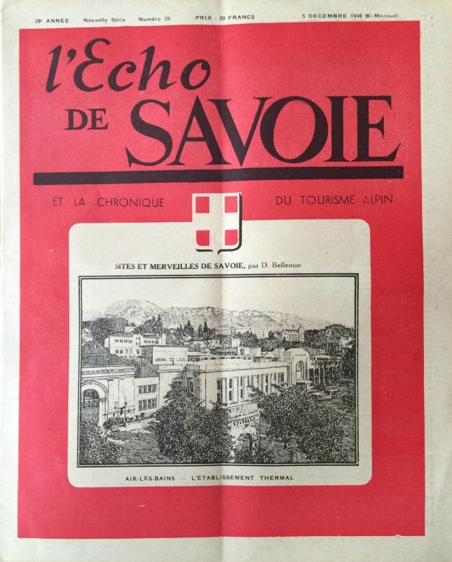 L'Echo de Savoie n°26