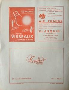 Le Mois à Lyon 15 janvier 1942 back