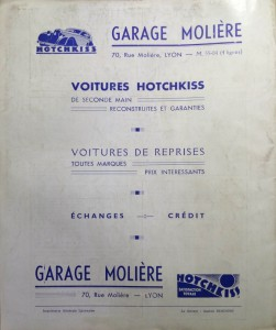 Le Mois à Lyon avril 1940 back