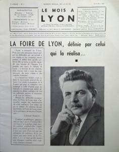 Le Mois à Lyon avril 1940 editorial