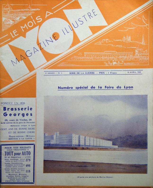 Le Mois à Lyon avril 1940