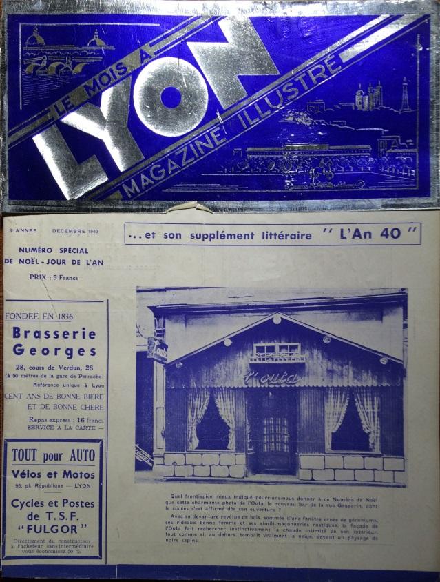 Le Mois à Lyon décembre 1940
