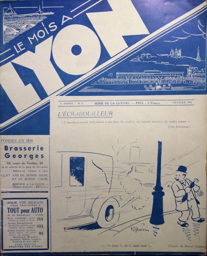 Le Mois à Lyon février 1940
