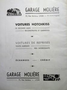 Le Mois à Lyon juin 1939 back -
