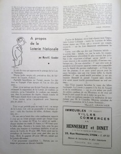 Le Mois à Lyon juin 1940 editorial suite