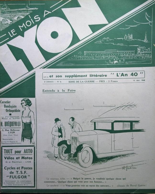 Le Mois à Lyon mai 1940