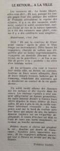 Le Mois à Lyon octobre 1940 article Frédéric Dard