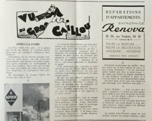 Le Mois à lyon avril 1939 editorial. texte dard
