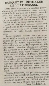 Le Mois à lyon avril 1939 texte Charlaix