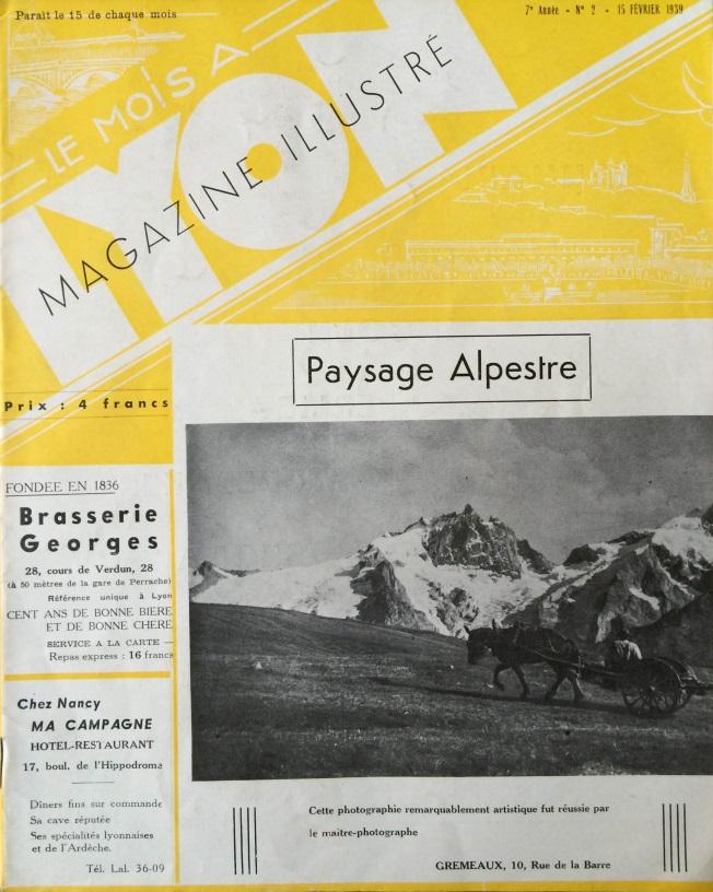 Le Mois à lyon février 1939