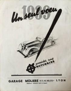 Le Mois à lyon janvier 1939 back